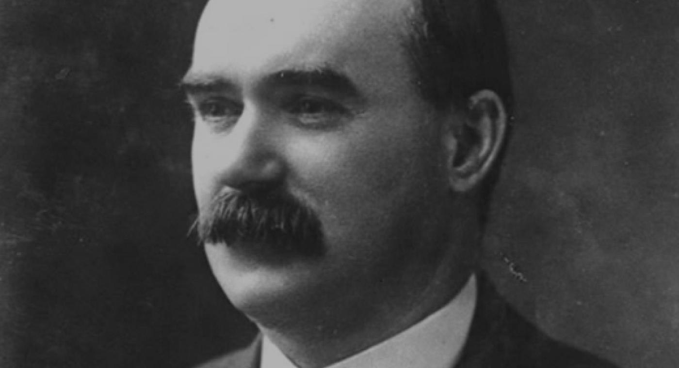 Irish Proclamation signatory James Connolly
