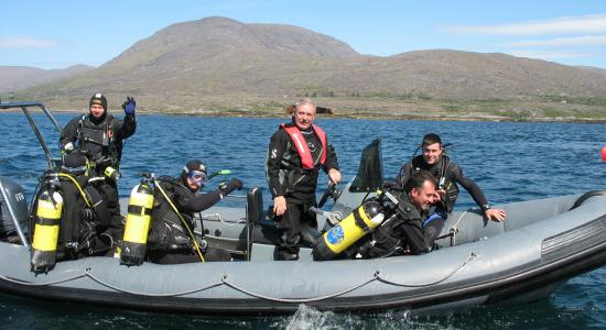 Irish Defence Forces' Divers
