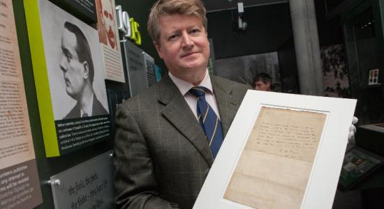 Pearse letter of surrender at GPO